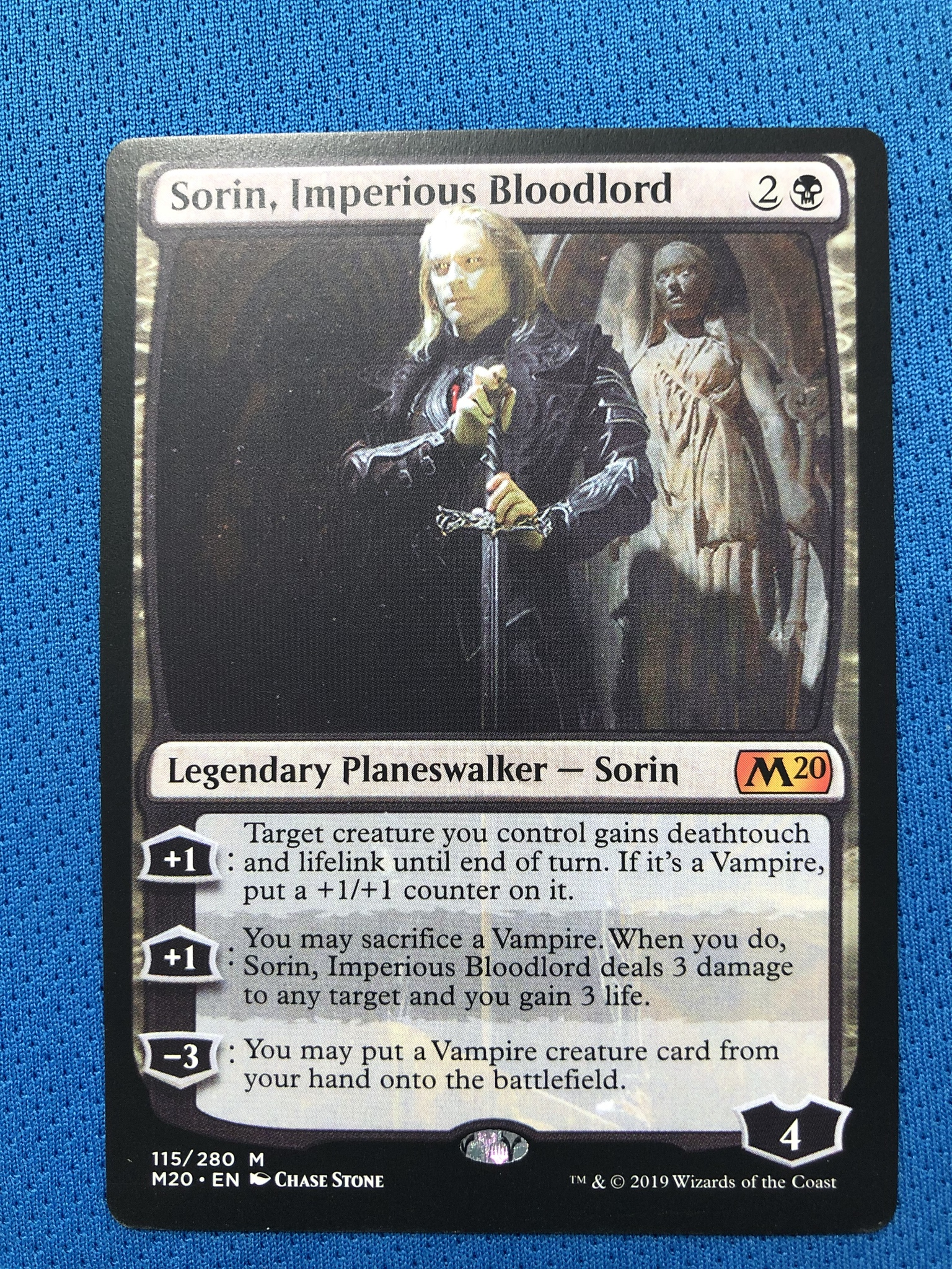 Sorin, Imperious Bloodlord	M20 Hologram Magician ProxyKing 8.0 VIP The Proxy Cards To Gathering Every Single Mg Card.