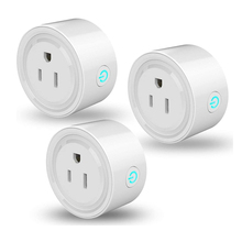 US Plug Outlet Remote-Control Wifi Timer-Function Alexa Smart Google Home with Works