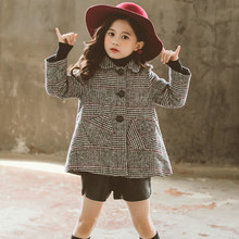 Jacket 12-Years-Old Clothing Coats Children Outerwear Girl Kids Winter Fashion Warm