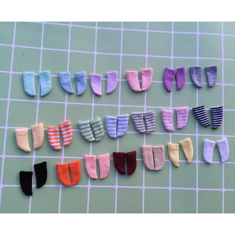Ob11 bebê roupas acessórios meias 12 pontos bjd roupas de bebê meijie porco meias gsc argila meias de fundo listras ob11 bebê