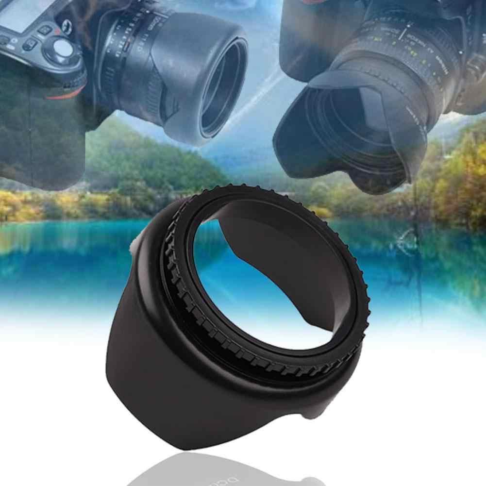 Profesional Kamera Lensa Hood 52Mm 55Mm 58Mm 62Mm 67Mm Diameter Bunga Bentuk Sekrup Mount Lensa hood UNTUK Nikon Meriam Kamera Sony