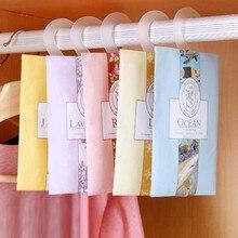 10 pièces odeur naturelle encens garde-robe Sachet Air frais parfum sac parfum Sachet sac aromathérapie paquet garde-robe fournitures QDRR