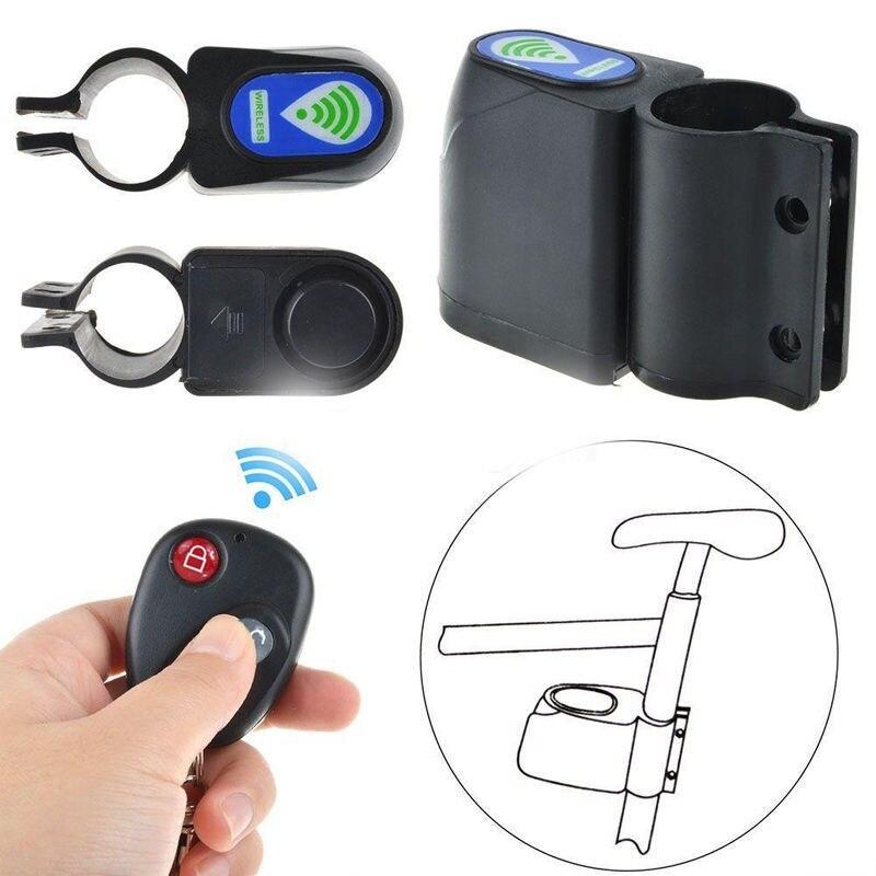 Беспроводная сигнализация, противоугонная велосипедная Блокировка, велосипедный замок безопасности, дистанционное управление, вибрацион...