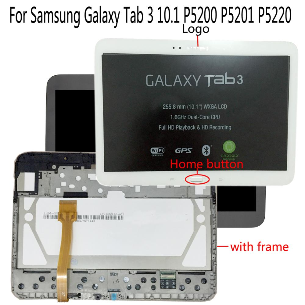 Shyueda Original For Samsung Galaxy Tab 3 10.1 GT-P5200 P5201 P5220 LCD Display Touch Screen Digitizer