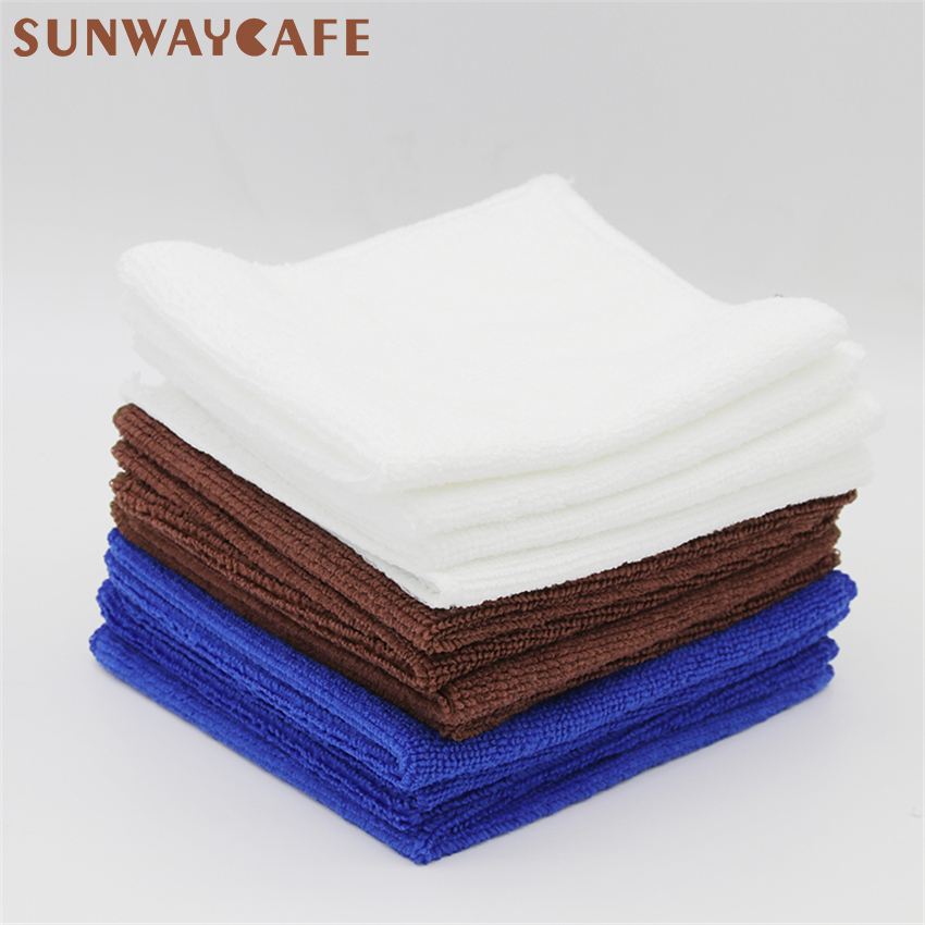 5Pcs Super Absorbent Towel Barista Towel Rag Bar Coffee Machine Cleaning Cloth Tableware Household Cleaning Towel Kichen Tools