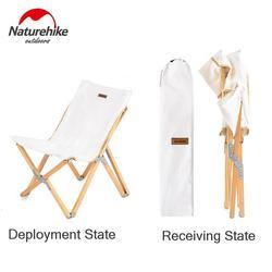 Naturehike, новинка 2019, складной деревянный стул, портативный, для рыбалки, стул, изобразительное искусство, для жизни, эскиз, маленький стул, скам...