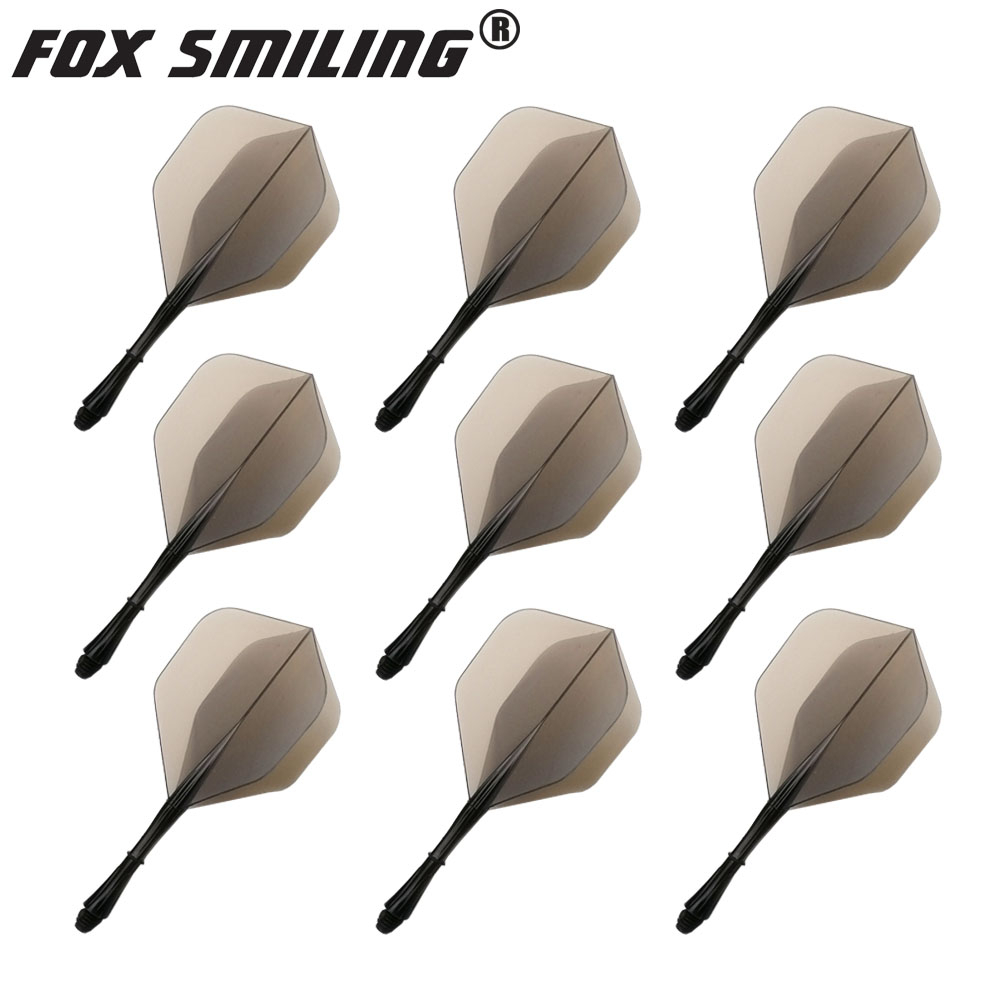 9pcs Professional Dart Flights And Shafts 2BA Screw Soft In-one Dart Flight Durable Anti-fall Good Quality