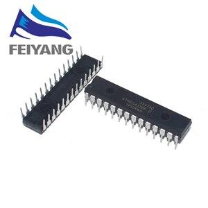 Image 1 - 100pcs ATMEGA328P PU ATMEGA328 PU CHIP ATMEGA328 MCU AVR 32K 20MHz FLASH DIP 28