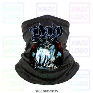 FReeSHIP Dio Clasic Men Bandana Rock For Men Concert Bandana Black Unisex S Headband scarf Bandana Neck Warmer Women Men