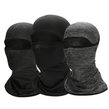 Cycling Face Bandana Outdoor Sports Women Men Headband Faceshield Mask Neck  Ice Silk Cool Scarf Dustproof
