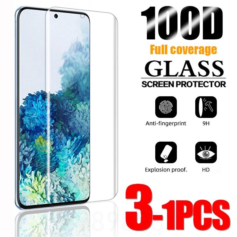 Защитная пленка из закаленного стекла для Samsung Galaxy S10 плюс S9 S8 протектор экрана S20 S21 S10e S 9 8 10 e Примечание 20 Ультра 5G пленка с полным покрытием Защитные стёкла и плёнки для телефонов      АлиЭкспресс