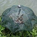 Прочная Складная приманка Рыбная ловушка Краб Омар креветка река  пруд литая рыболовная клетка рыболовные аксессуары