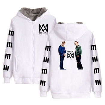 Marcus & Martinus Cross-border Casual Korean Style Women Hooded Loose Men and Hoodies Sweatshirts