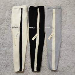 Mode fu shi Nebel Umge Linie Wesentliche MÄNNER Jogginghose California Qualifizierte Serie Kontraktion Hosen Joint Kontrast Farbe Pa