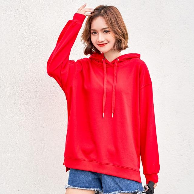 2020 New Winter Autumn Sweatshirt Hoodies Women Hoody Female Fleecce Sudaderas Winter Women's Hoodies Full Sleeve Hoodie 3