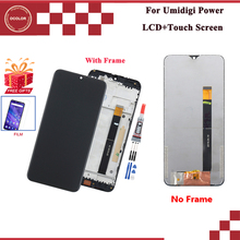 For UMI Umidigi Power LCD Display + Touch Screen 6.3 With Frame Assembly For Umidigi Power Screen +Tools +Adhesive+Film