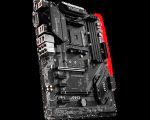 Image 5 - MSI anakart b450 tomahawk max amd ryzen 3rd cpu am4 oyun M.2 USB 3.1 4xDDR4 Crossfire ATX b450 marka yeni anakart 2011