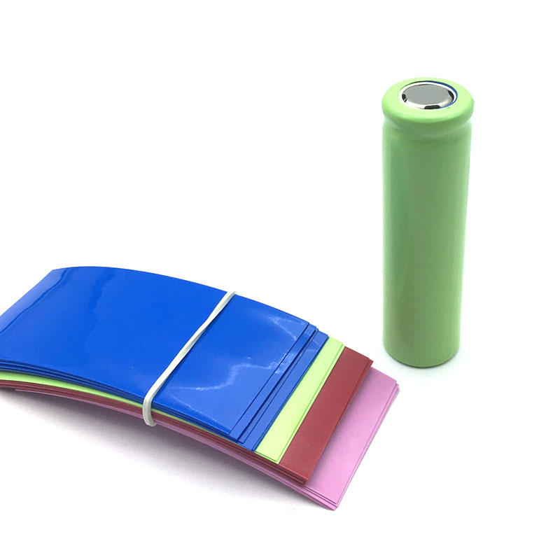 20pcs/lot For 21700 Battery Wrap PVC Heat Shrink Tubing Sleeving Pre-cut Each 77mm Batteries Covering