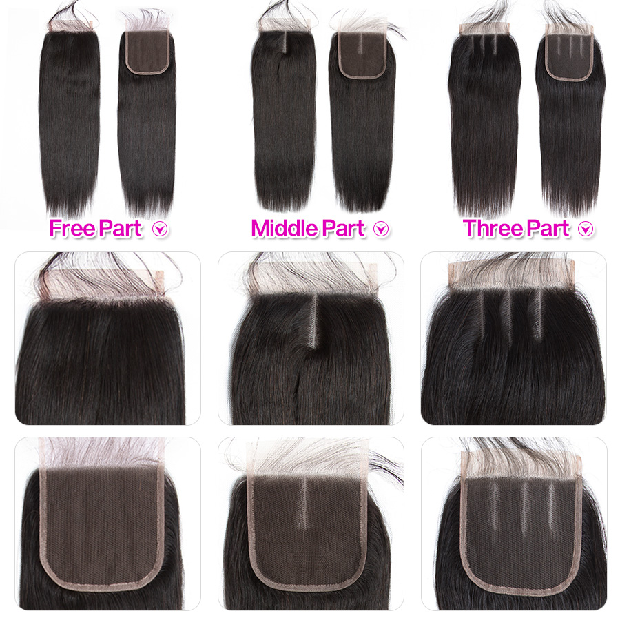Beautiful Princess Peruvian Straight Hair 3 Bundles With Closure Double Weft Remy Human Hair Bundles With Beautiful Princess Peruvian Straight Hair 3 Bundles With Closure Double Weft Remy Human Hair Bundles With Lace Closure