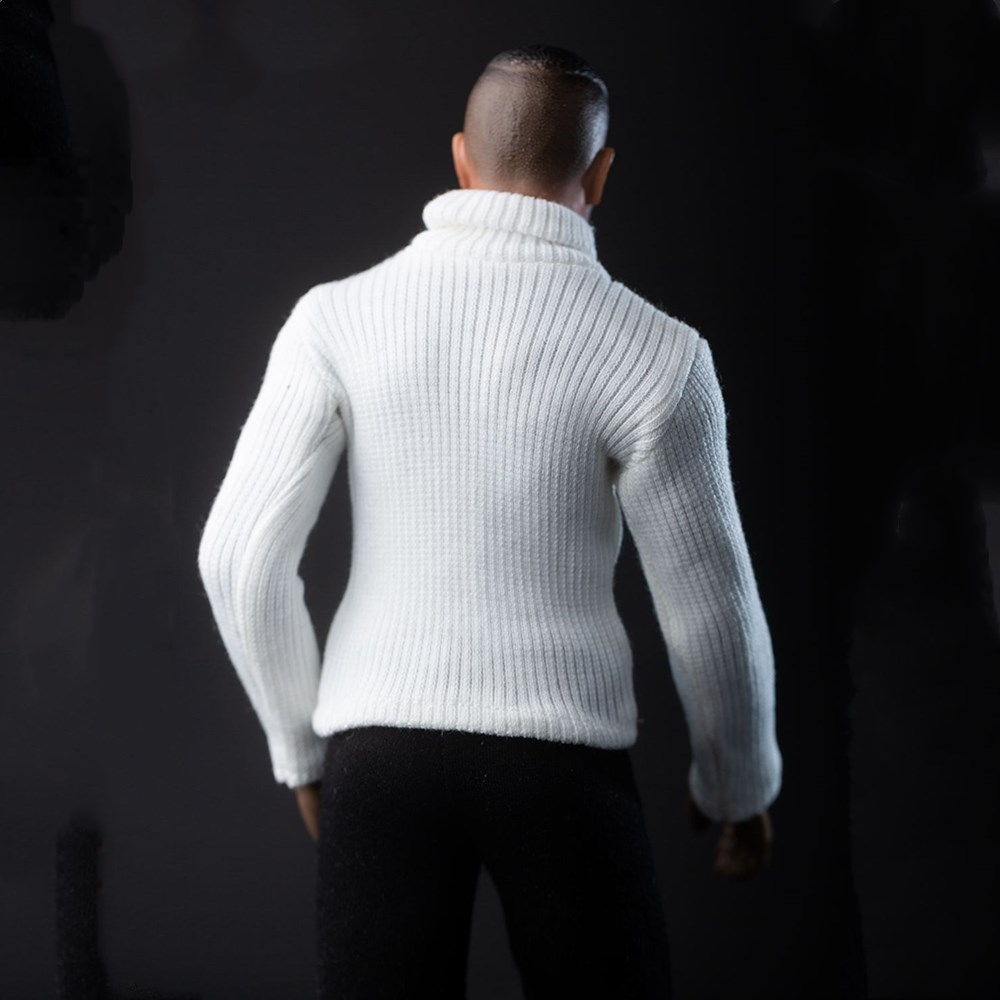 1//6 Male Turtleneck Sweater Knitwear Clothes Coat Accessory F 12/'/' HT//PH Figure