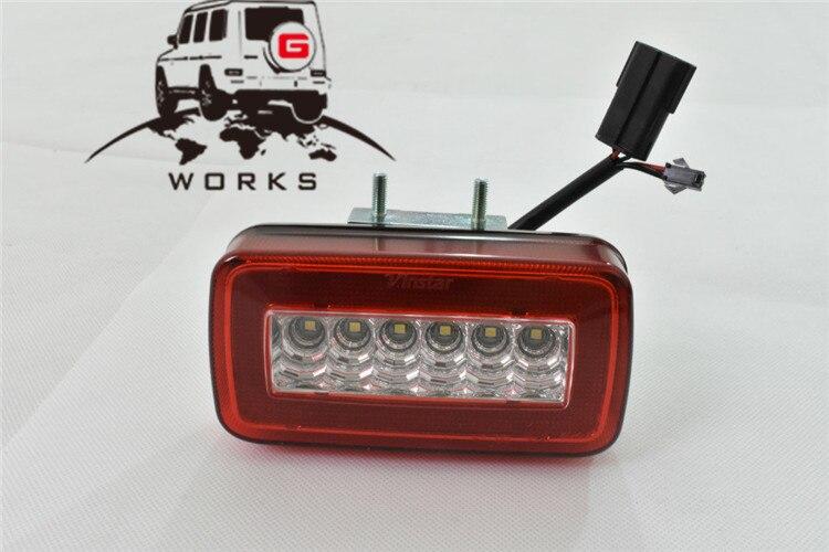 rear bumper LED W463 (2)