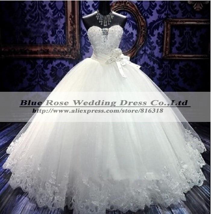 Vestido De Noiva 2019 Sweetheart Ball Gown Wedding Dresses Tulle Luxury Wedding Dress Robe De Marriage Bridal Gown Casamento