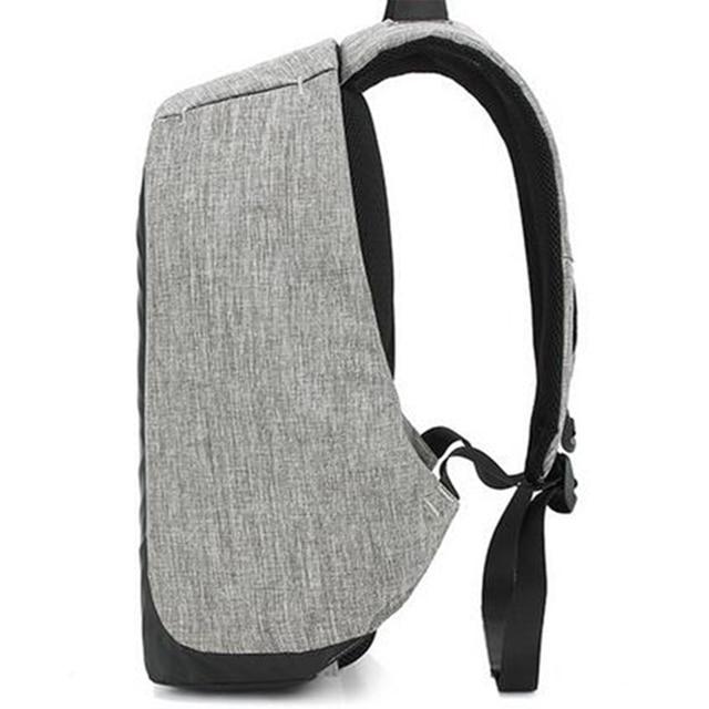1 pcs Backpack Durable Energy-saving Exquisite Delicate Useful Solar Backpack for Backpacker Student Knapsacking 2