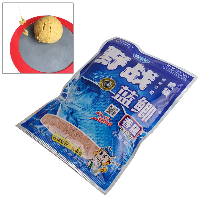 300G Natural Fishing Bait Powder Carp Crucian Killer Fish Tackle Food Accessory image