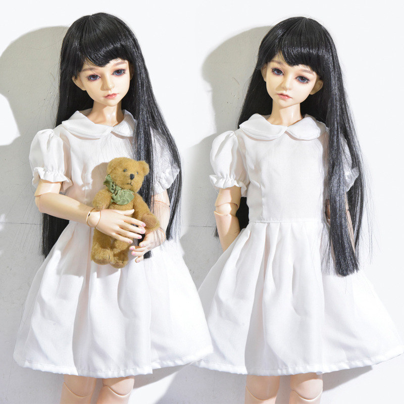 1/3 1/4 1/6 BJD Doll Clothes SD Doll Solid Color Fashion Dress 30 40 60cm ICY Bjd Doll Clothing Accessories Girls Toys