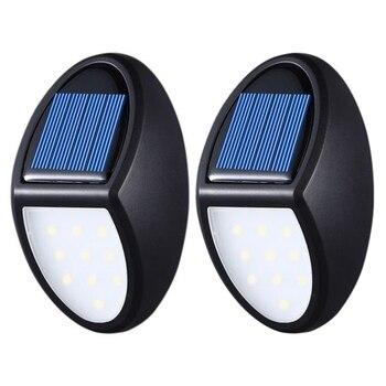 Outdoor Tuin Licht Solar Licht 10 Led Solar Powered Solar Lamp Motion Sensor Wandlamp Draagbare Waterdichte