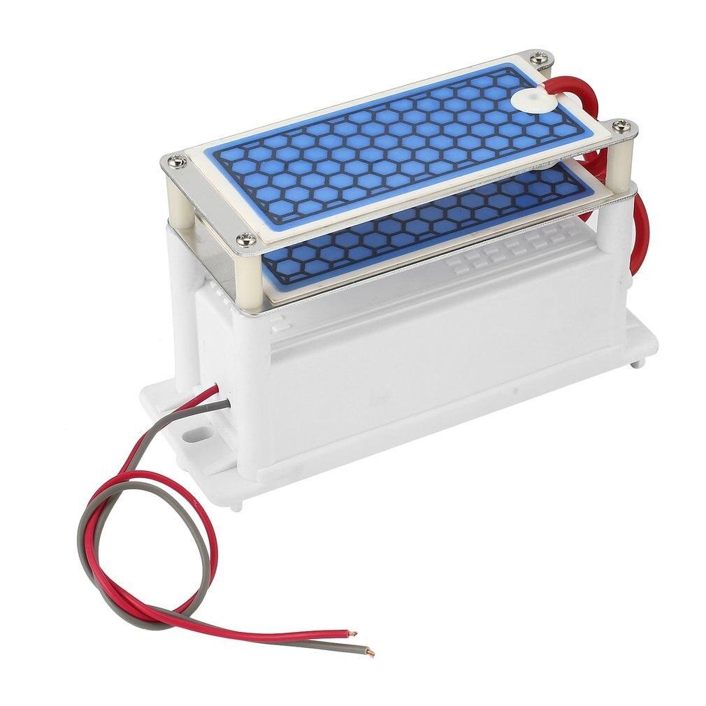 110V 7g/h Mini Ozone Generator Integrated Ceramic Plate Air Ozonizer Machine Sterilizer DIY Air Purifier Odor Elimination