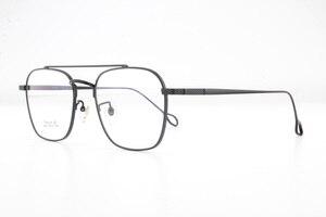 Image 3 - แว่นตาPure Titaniumกรอบแว่นตาผู้ชายVintage Oversizeแว่นตาตามใบสั่งแพทย์คุณภาพสูงจุดการบินแว่นตา
