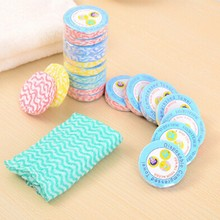 Disposable Towel Portable Compressed Cloth Face Towels Wipes Washcloth Outdoor Camping Picnic Travel Accessories Random Color