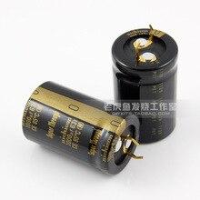 2PCS Nichicon gold foot electrolytic capacitor KG Super Through 1000Uf/63V super penetration