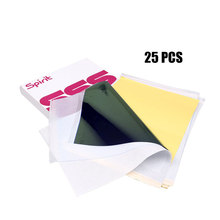 25pcs Tattoo Transfer Paper A4 Size Tatoo Paper Thermal Stencil Carbon Copier Paper недорого