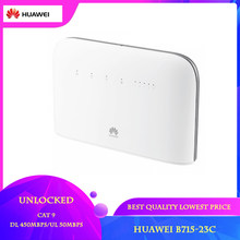 Desbloqueado huawei b715 B715s-23c 4g lte cat9 450mbps suporte band1/3/7/8/20/28/32/38 cpe 4g wifi roteador pk B525s-65a b535