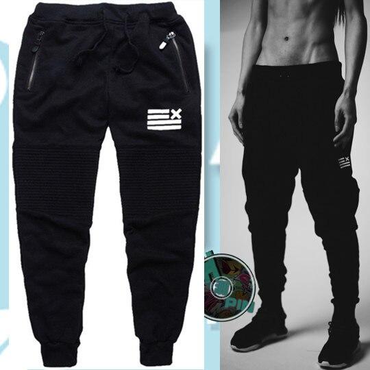 Europe And America Popular Brand Ankle Banded Pants Jogging Athletic Pants Men's England Slim Fit Pants Beam Ninja Sweatpants