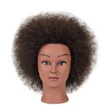Training Head 40% Natural Hair Hairdressing Mannequin Training Head teaching head