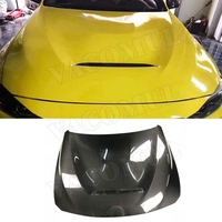 Carbon Fiber Front Engine Hood Vent Cover for BMW F30 F32 F80 M3 F82 F83 M4 Car Bonnet Cap Car Styling