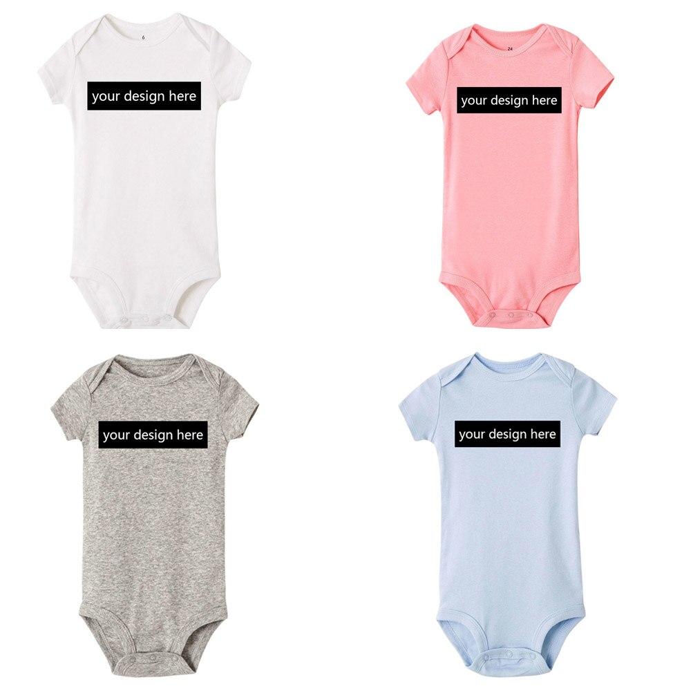 Комбинезоны для новорожденных, с коротким рукавом