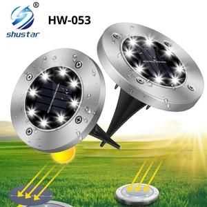 8 LED Solar Powered Light Outd
