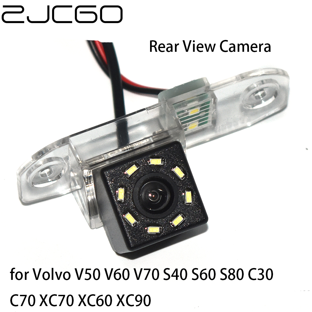 ZJCGO CCD HD Auto Hintere Ansicht-rück Back Up Parkplatz Nachtsicht Kamera für Volvo V50 V60 V70 S40 S60 s80 C30 C70 XC70 XC60 XC90