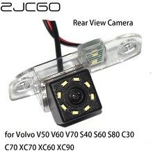 цена на ZJCGO CCD HD Car Rear View Reverse Back Up Parking Night Vision Camera for Volvo V50 V60 V70 S40 S60 S80 C30 C70 XC70 XC60 XC90