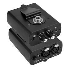 Voor Anleon S1 100 240V Persoonlijke Ear Monitor Hoofdtelefoon Versterker In Ear Monitoring Systeem Stage Studio Monitor headset Versterker