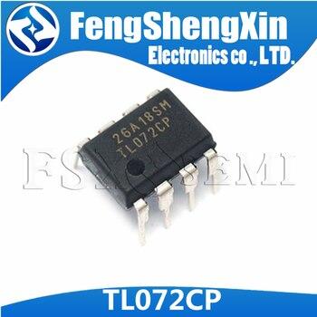 10pcs/lot TL072CP TL072CN TL072 Dual operational amplifier IC DIP-8 - sale item Active Components
