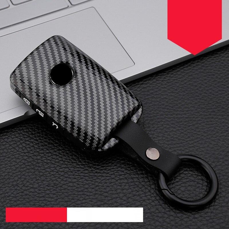 Чехол из углеродного волокна и силикона для автомобильного ключа, чехол для Mazda 3 Alexa CX 30 CX30 CX5 CX 5 CX 5 CX8 CX9 CX4 2019 2020, автомобильные аксессуары|Футляр для автомобильного ключа|   | АлиЭкспресс