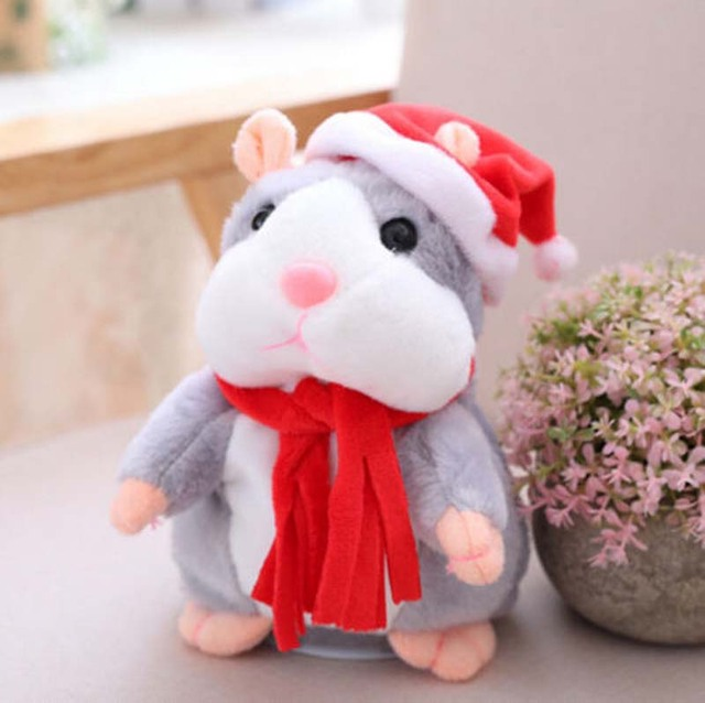Cheeky Hamster Talking Pet Soft Toy Cute Sound 2019  Xmas Kid Gift Toy