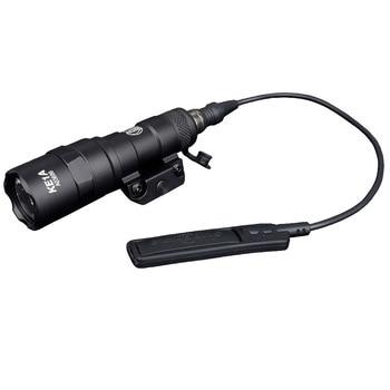 Surefir M300 M300B Mini Scout Light LED 280lumens Weapon Tactical Torch Flashlight Outdoor Hunting Rifle light 5