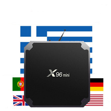 Amlogic S905W X96mini Android 7.1 Smart TV BOX 4K*2K with Gr