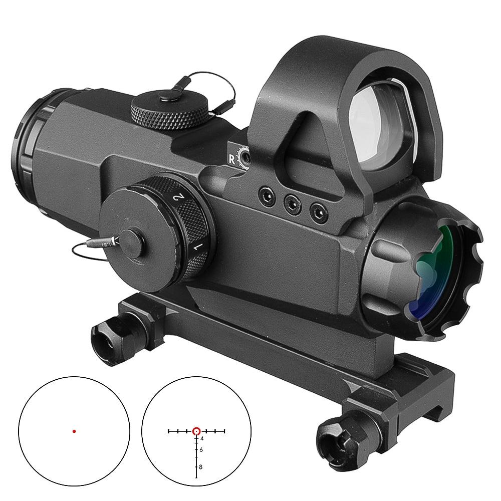 4x24 Scopes Tactical HAMR Zielfernrohr Objektiv Red Dot PP1-0403 Mark 4 Hohe Genauigkeit Multi-Palette Zielfernrohr jagd
